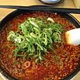 赤味噌ラーメン(季節限定・来来亭)