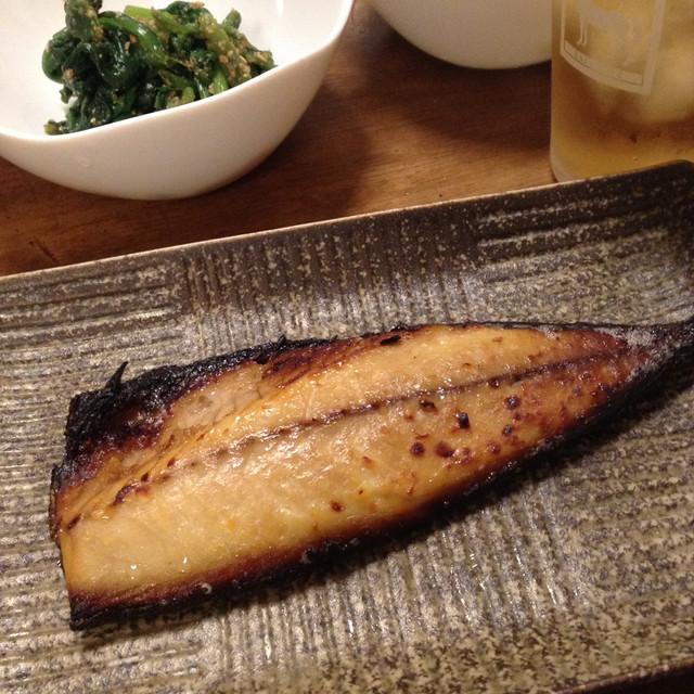 鯖の西京味噌漬け
