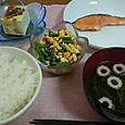 5月19日 インゲンと炒り卵の炒め物