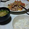 3月24日肉野菜炒め(?)
