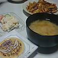 3月27日納豆と(?)炒めもの