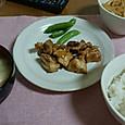 21日鶏の照焼