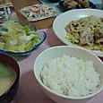 30日 キャベツと豚肉の味噌炒め