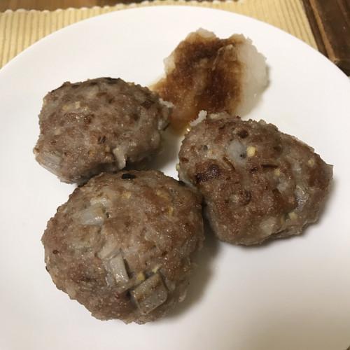 蓮根ハンバーグ