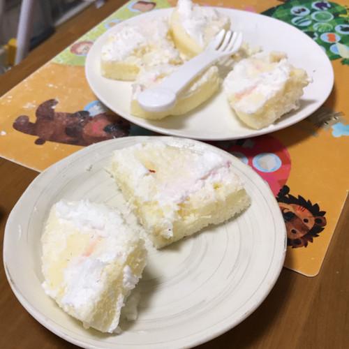 悠人誕生日 ケーキ