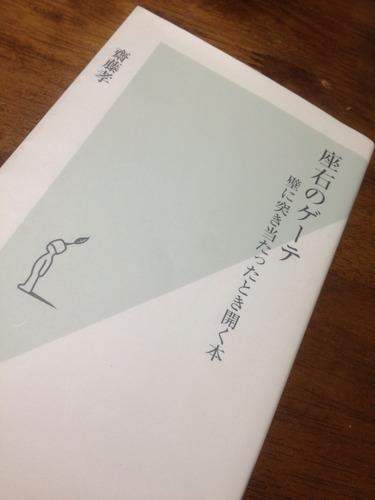 斎藤孝 座右のゲーテ -壁に突き当たったとき開く本