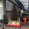 京都駅伊勢丹のクリスマスツリー