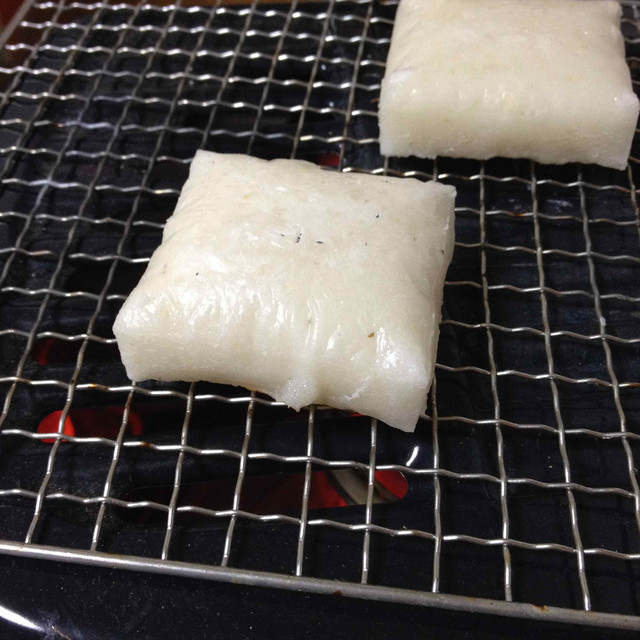 お餅 (ぼちぼち)