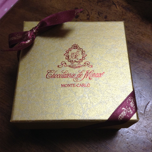 今年のバレンタインのチョコ(家族用)