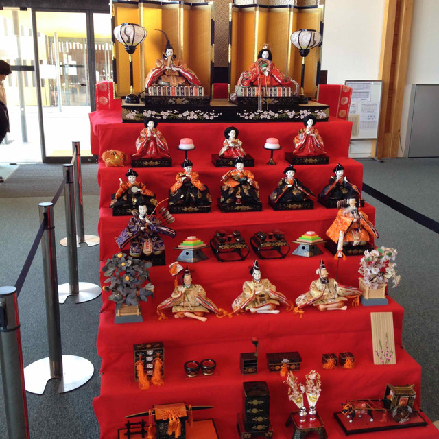 熊野古道センターのおひなさま祭り