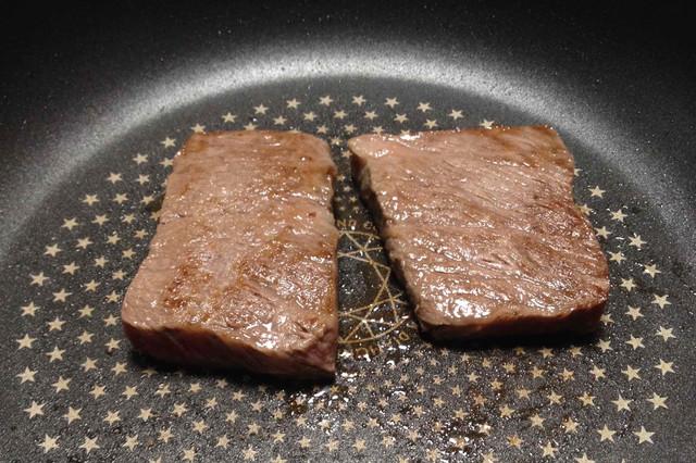 二人でお肉を