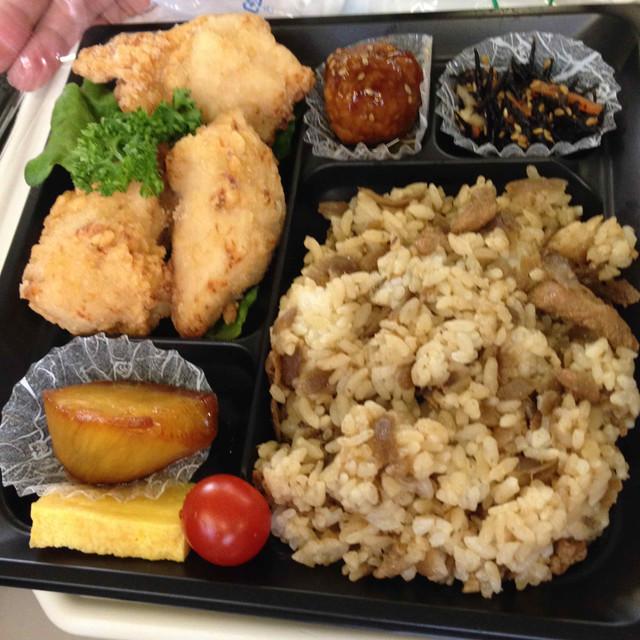 鶏ご飯のお弁当(京都駅伊勢丹地下)