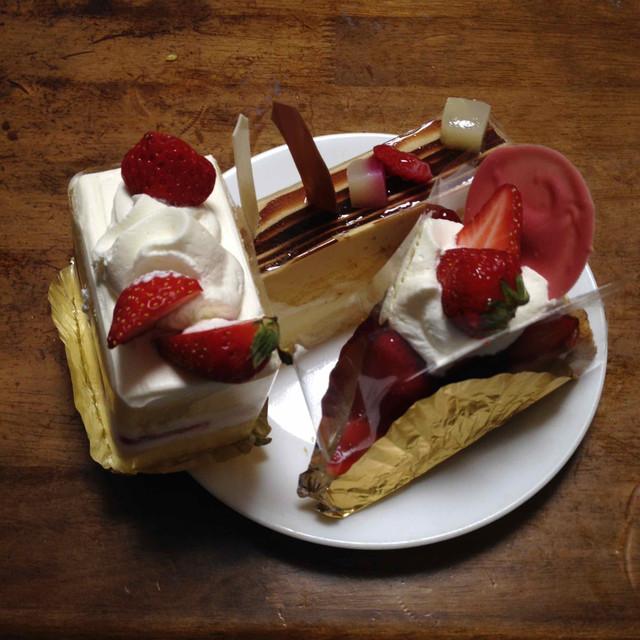 6月4日誕生日前日のケーキ