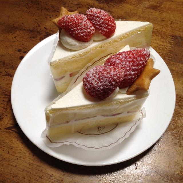 クリスマスのケーキ