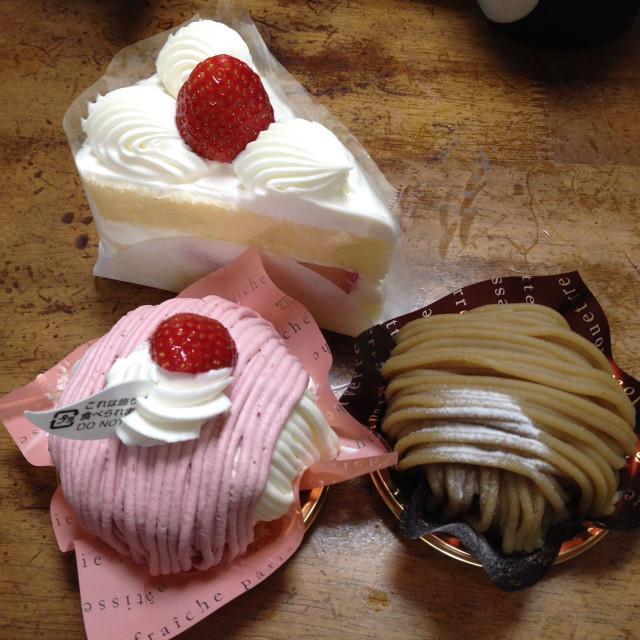 春のケーキ(シャトレーゼ)
