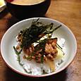 キムチ納豆で