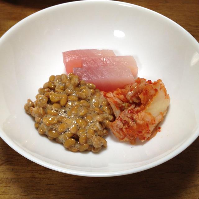 シビ納豆キムチ