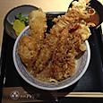 ハゲ天の天ぷら丼