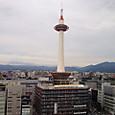 京都タワー(空中回廊から)
