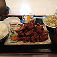 味珍の酢豚定食