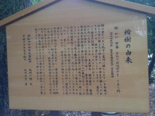 湯島聖堂にて