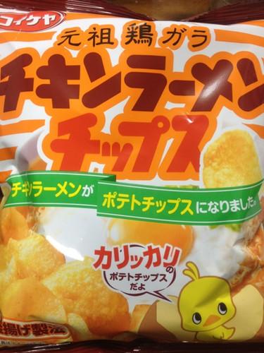 チキンラーメン チップス