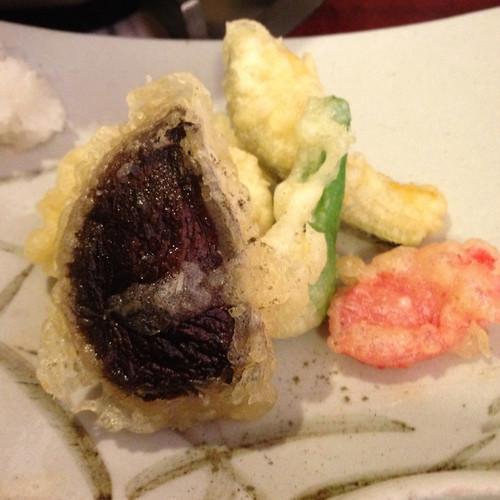 湯豆腐定食 天ぷら