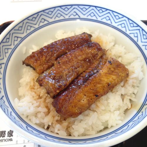 うなぎ丼(吉野家)