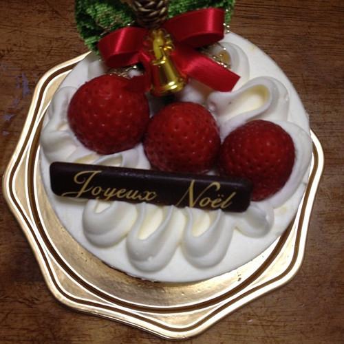 平成25年のクリスマスケーキ