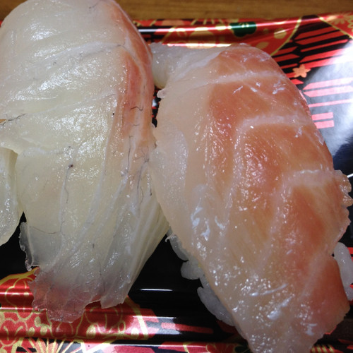 鯛のにぎり寿司