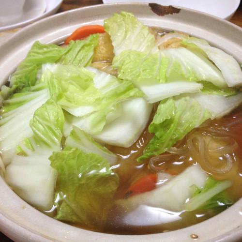 白菜のお鍋