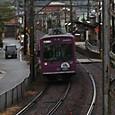 車折神社の駅を望む