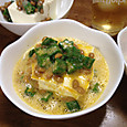 オクラ納豆の卵混ぜ