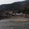 嵐山(渡月橋の向こう側)