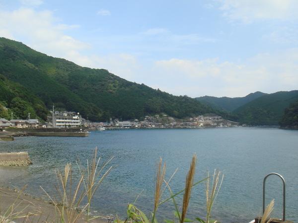須賀利の集落