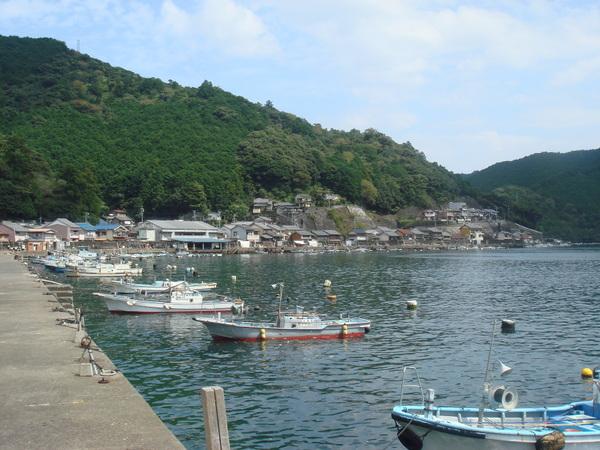須賀利の港