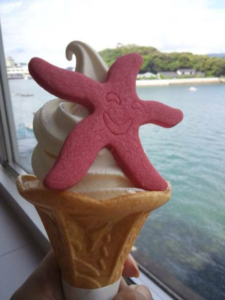 鳥羽水族館・ソフトクリーム