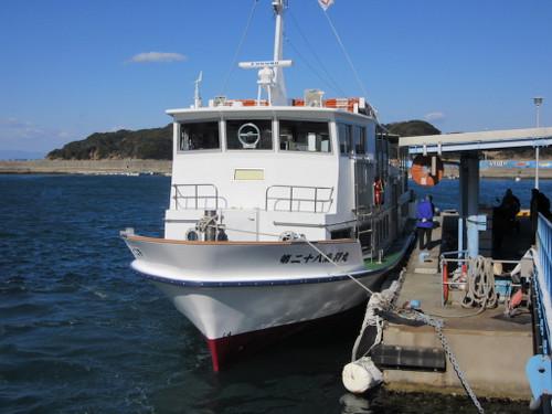 答志島(桃取への定期船)