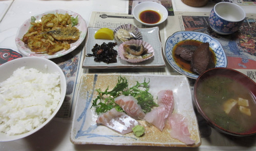 ロンク食堂(おまかせ定食)