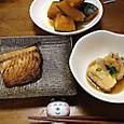 鯖と揚げ出し豆腐とかぼちゃ