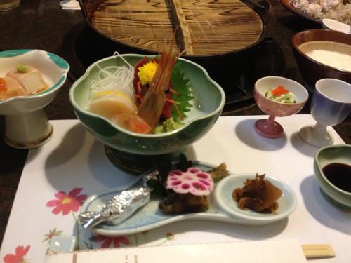 塩原温泉夕食