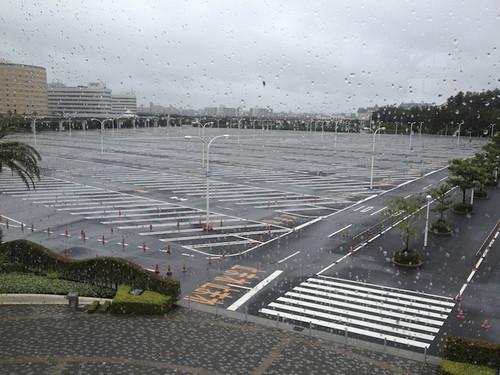 ホテル周辺の駐車場